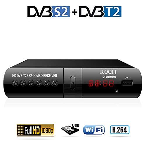 Ashey Teknikal HD DVB-T Set-Top-Box-Receiver 1080P TV-Tuner für Digital-TV-Kanäle Tuner HDMI/Scart-Ausgänge USB-Steckplatz DVB-T Digi Box 4 Umschaltzeit