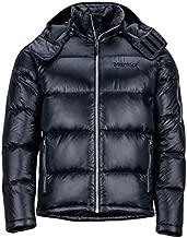 Marmot Men's Stockholm Down Puffer Jacket, Fill Power 700, Jet Black, Large