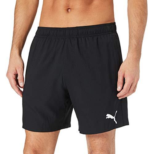 PUMA Herren Puma Men's Mid Shorts Swim Trunks, Black, L EU