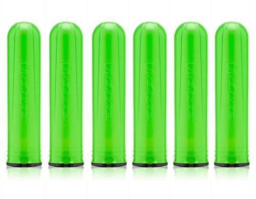 Dye Paintball Alpha Pod Tube - Lime - 6 Pack
