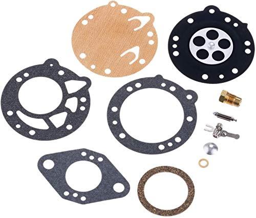 UGUTER Kit de carburador Pro Carburetor Kit De Reparación para Tillotson RK-88HL HL Homelite Wiz Zip Stihl/Ryobi Kit de reconstrucción de carburador