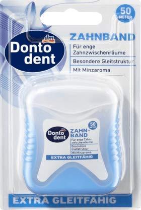 Dontodent Zahnband extra gleitfähig, 50 m