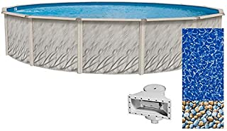 Lake Effect Meadows Reprieve 18' Round Above Ground Swimming Pool | 52