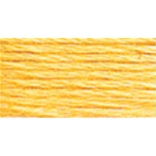 DMC Pearl Cotton Skein Size 3 16.4yd-Pale Yellow