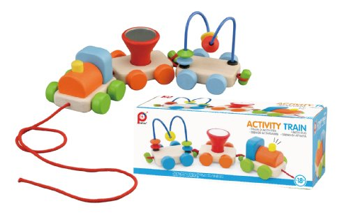 PINTOY pull train (bright color) 12504 (japan import)