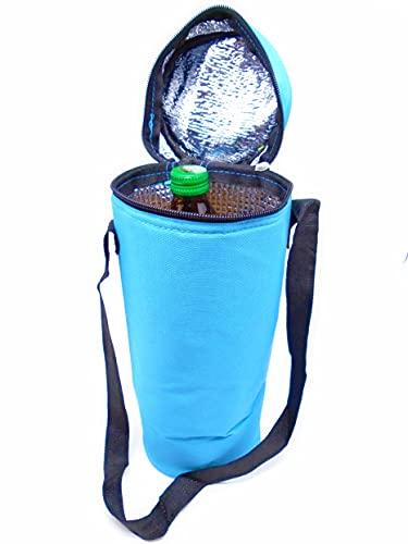 Azul 3L Total Hidalgo 1 / 1.5l Botellas Enfriador Flexible portátil para Playa Camping Bolsa térmica Camping Enfriador Camuflaje Militar