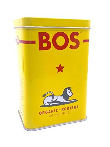 Rooibos BOS Confezione in latta da 40 filtri, 100 grammi (1)