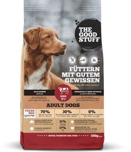 THE GOOD STUFF A BRAND OF MAMACHRIS PETFOOD GMBH Beef (Adult) Grösse 500g