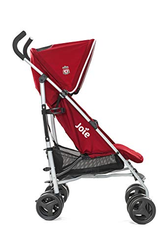 Joie Nitro LFC Umbrella Pushchair/Stroller, Red Crest Joie Sleek and lightweight umbrella chassis weighing just 7.52kg Suitable from birth with flat reclining seat SoftTouch, 5-point harness with shoulder covers 2