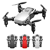 Foldable Mini Drone for Kids&Adults,LF606 Mini Drone with 0.3MP 2MP 5MP 4K Camera Foldable Drones One-Key Return FPV Quadcopter Follow Me RC Helicopter Quadrocopter Kid's Toys,Easy Toy for Beginner