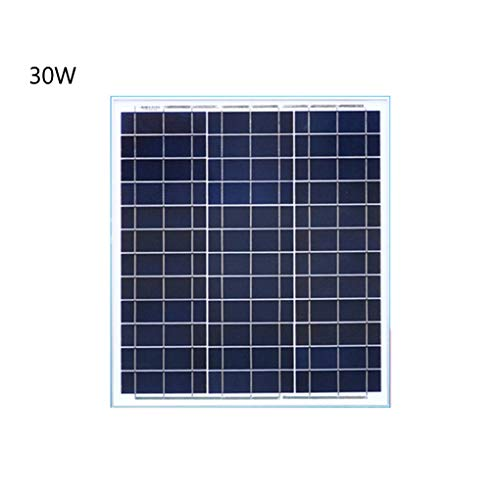 100 Watt 12/24 Volts Polycrystalline Portable Solar Panel Suitcase RV Solar Kit with Charge Controller for Caravan Home Car RV Camper(Convenient Installation)