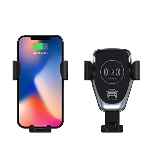 Acecoree Wireless Charger Auto Handyhalterung,10W Kfz Induktive Ladestation Automatische KFZ Ladegerät Drahtloses Autohalterung Air Vent Phone Holder Kompatibel für Alle Smartphone