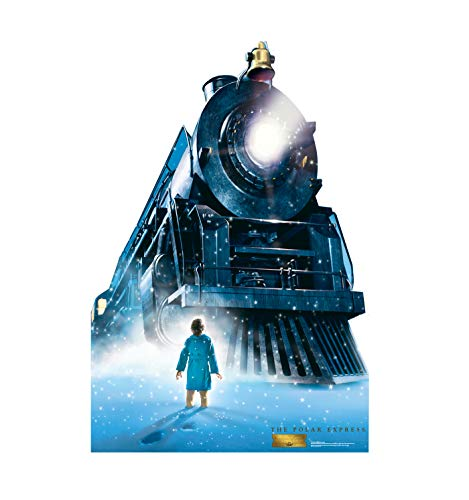 Advanced Graphics The Polar Express Train Life Size Cardboard Cutout Standup - The Polar Express (2004 Film)