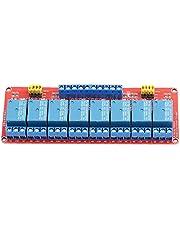 Módulo de relé de 8 canales optoacoplador 24V Alto Bajo gatillo OPTO Aislamiento Industria placa de relés electrónicos