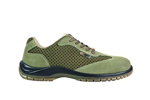 Exena 1101001221438 - Argo - scarpe di protezione del lavoro, dimensione 43, marrone