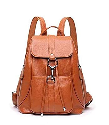 Leather Backpack Purse for Women, Modoker Fashion Rucksack Backpack for Travel College, Casual Weekend Daypack
