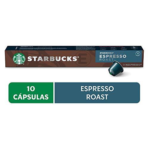 Café em Cápsula Starbucks Nespresso Espresso Roast 10 Cápsulas