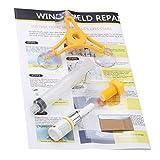 Logicstring Kit De Reparación De Vidrio para Parabrisas De Coche DIY, Herramientas De Restauración De Grietas De Vidrio para Reparación De Parabrisas De Vidrio De Vehículo para Estilo De Coche
