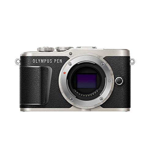 Olympus PEN E-PL9 Micro Four Thirds Systemkamera, 16 Megapixel, Bildstabilisator, elektronischer Sucher, 4k-Video, schwarz