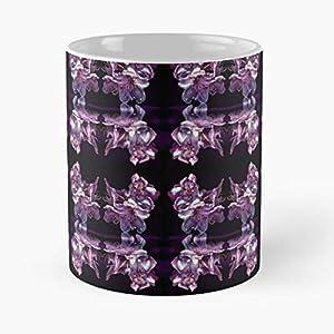 Purple Flower Flowers Pink Rhododendron Silk Best 11 Ounce Ceramic Coffee Mug