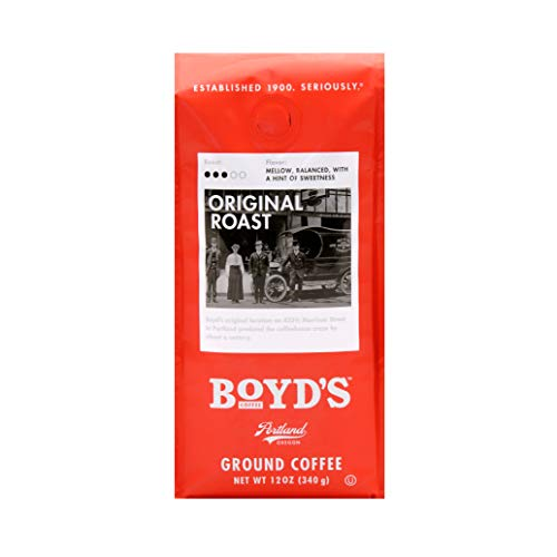 Boyd's Original Roast Coffee - Ground Medium Roast - 12-Oz Bag