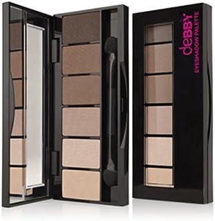 Debby On The Go paleta 03 Nude Beige Paris cienie do powiek Make-Up E Cosmetica oczy, wielokolorowe