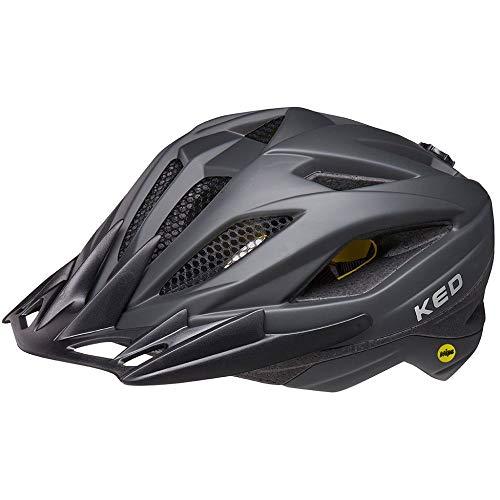 KED Street MIPS Helm Kinder Process Black matt Kopfumfang M | 53-58cm 2021 Fahrradhelm