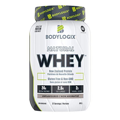 Bodylogix Natural Whey, Unflavoured, 840 g