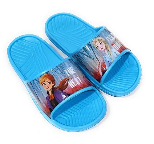 Chanclas Frozen Elsa y Anna para Playa o Piscina - Flip-Flop Frozen Disney para niñas (25)