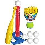 Best T Ball Sets - Extpro 19.5 inch Kids T-Ball Set Soft Tee Review