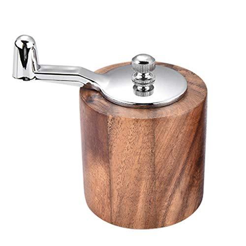 Lorsoul Handkurbel Pfeffermühle Adjustable Grobkörnigkeit Küche Meersalz Kräuter Gewürze Mühle mahlt Werkzeug