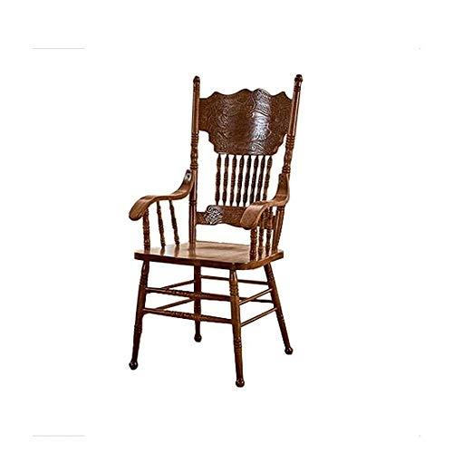 Faiol sillas comedor Estilos 2 sillas de comedor, de Europa y América retro País madera maciza sillas de comedor, sillas de respaldo del tallado for el hogar restaurante de Boss sillas de comedor (col