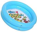 TEFIRE Piscina Hinchable para Bebés Piscinas Desmontables Piscinas Circular 65 x 16 cm Pequeña Piscina para Niños(Azul)
