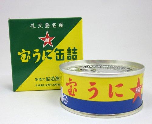 宝うに缶詰 エゾバフンウニ 100g