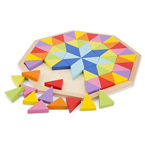 New Classic Toys Octagon Puzzle, multicolore color (10515) , color/modelo surtido