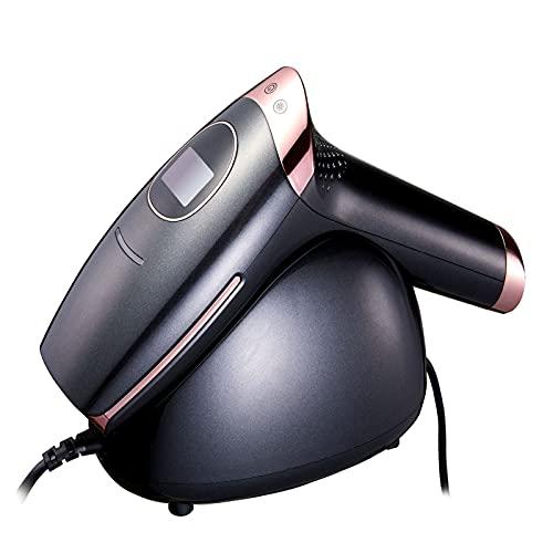 AP10 Laser Permanent Haarentfernungssystem 0.9s Schnellblitz-IPL-Haarentferner-Instrument EIS cool schmerzloser Laser-Epilierer,Schwarz