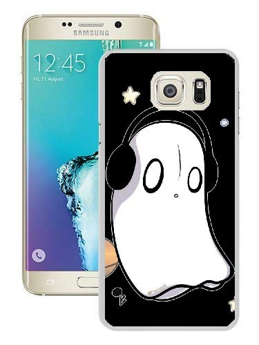 Undertale Napstablook Hard Plastic Phone Cell Case for Galaxy S6 Edge