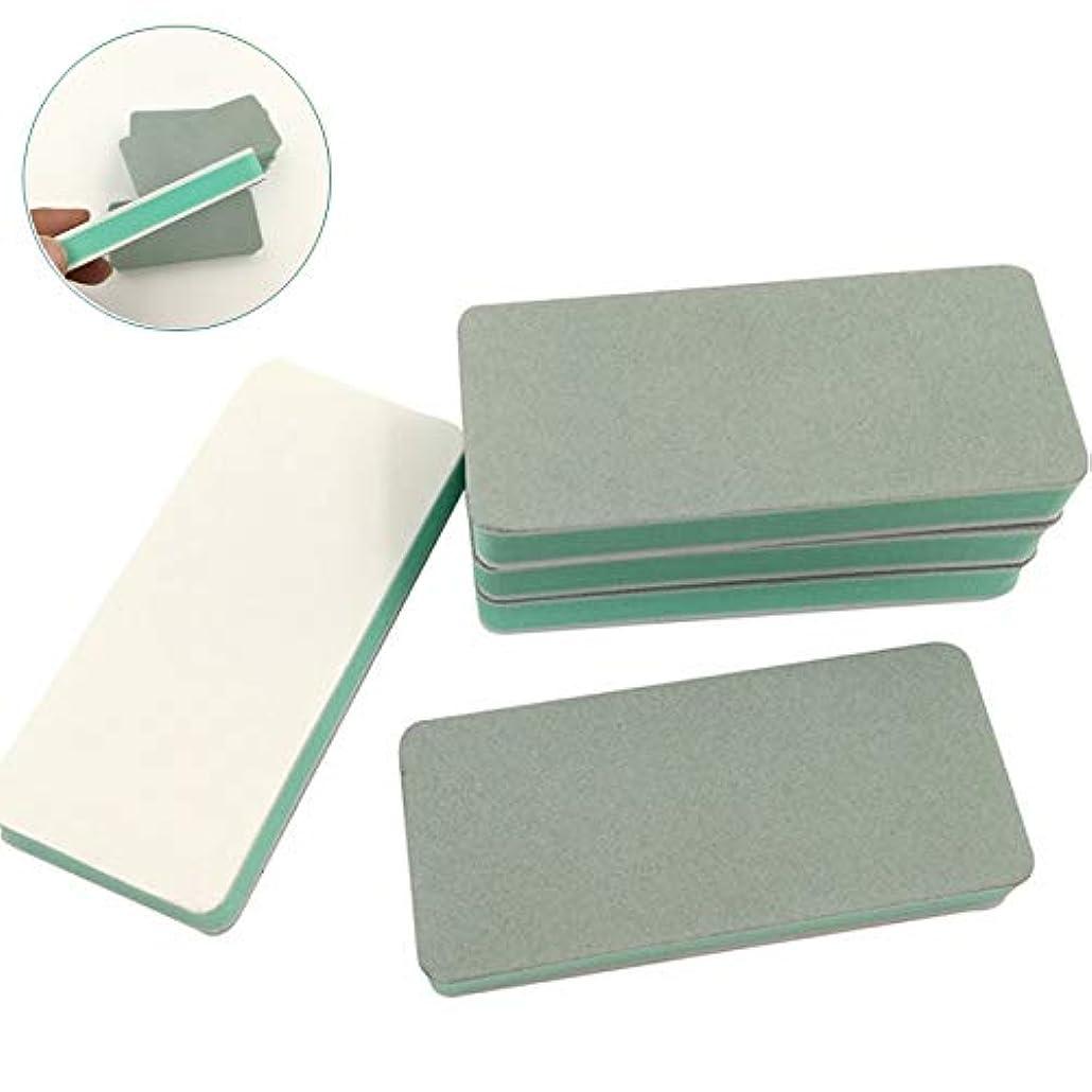 格納マインドフルサルベージ10個入りネイルバッファーサンディングブロック - ファイル、滑らか、輝き - ミニナチュラルネイルポリッシャープロフェッショナルネイルケア
