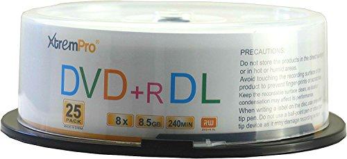 dvd doble capa de la marca XtremPro