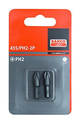 Bahco 45S/PH2-2P 2XBITS PH 2 25 MM 5/32