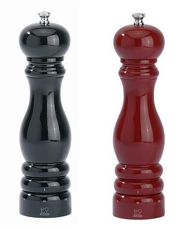Peugeot Set Paris pepermolen zoutmolen uselect zwart/rood 22 cm