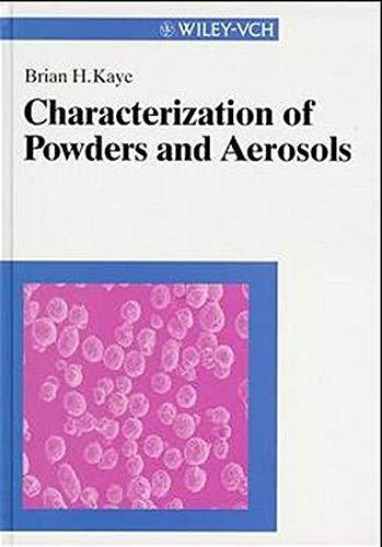 Characterization of Powders and Aerosols