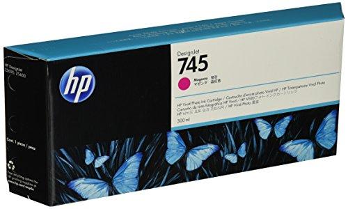 HP F9K01A Cartucho de Tinta, color Magenta, 300 ml