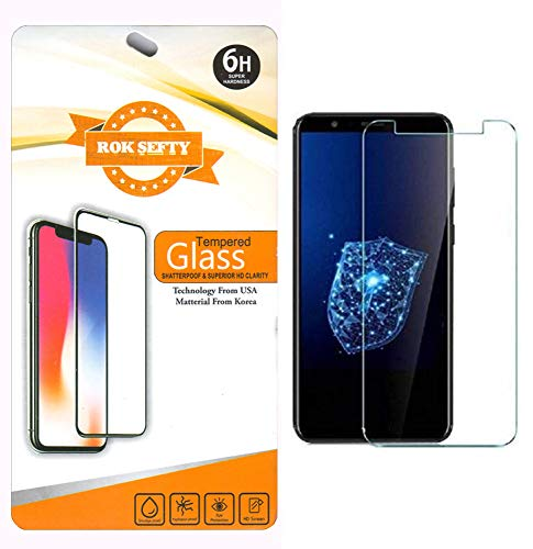 ROKSEFTY Screen Guard for Gionee-S11 lite with 2 Wipes (Pack of 1)