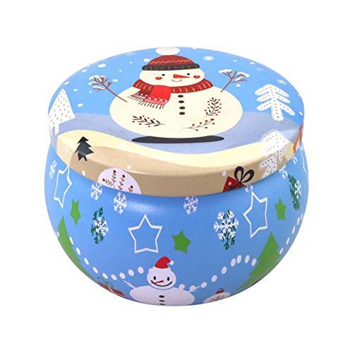 Goodtimera Velas aromáticas de Navidad de cera de soja, sin humo, juego de regalo romántico para mujeres, mujeres y amigas