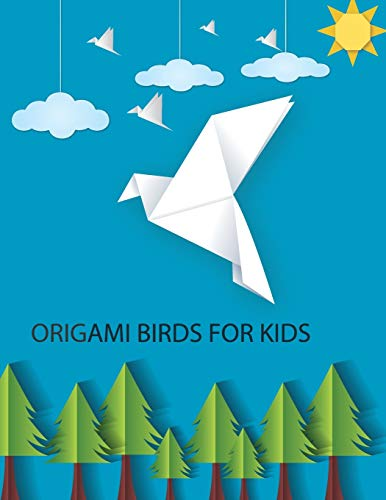 Origami Birds For Kids: make origami kit for kids step by step, easy origami for kids, best gift for son - daughter