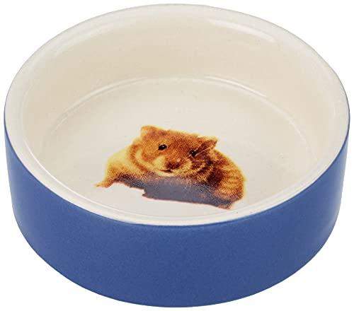Nobby Hamster Mangeoire en Terre Cuite Rongeur Bleu...
