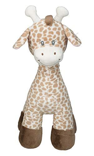Idena 40208 - Plüschtier XXL Giraffe in hellbraun und beige, mit kuscheligem Fell, für Kinder ab 3 Jahren, ca. 70 cm