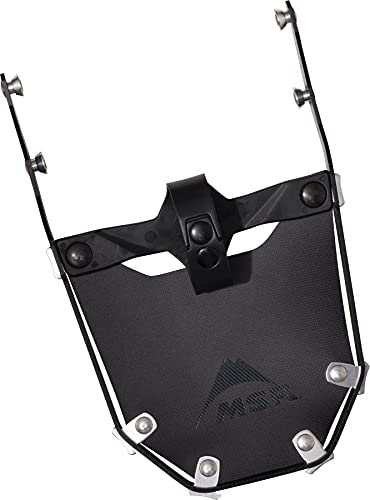 MSR Lightning Tail Schwarz, Aluminium-Schneeschuh, Größe One Size - Farbe Black