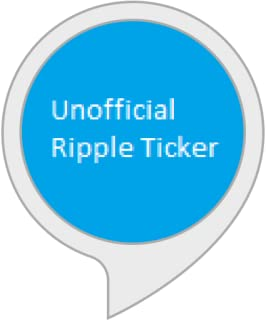 Unofficial Ripple (XRP) Ticker